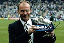 Alan SHEARER Boot Photo Signed Autograph AFTAL COA Newcastle United Magpies NUFC