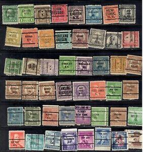 1925-66 48 different precancelled