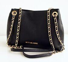 Michael Kors Tasche/Bag Jet Set Chain Item MD Chain Messenger Black/Gold  NEU!