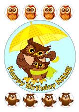 Owl Cake Topper Ebay