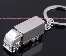 Key Ring Key Chain Truck Shape - Alloy Metal