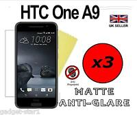 3x HQ MATTE ANTI GLARE SCREEN PROTECTOR COVER LCD GUARD FILM FOR NEW HTC ONE A9