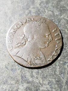 USA COLONIAL EVASION 1774 FARTHING ERROR COIN