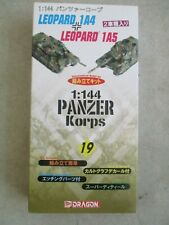PANZER KORPS 1:144 MODEL KIT NUMBER 19 BY DRAGON IN BOX 2004 LEOPARD 1A4 & 1A5