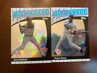 2 Card Lot 2004 Topps Hit Parade #HP19 Ruben Sierra & Gary Sheffield Yankees
