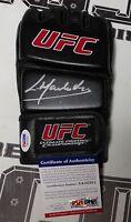 Lyoto Machida Signed Official UFC Glove PSA/DNA COA Autograph 157 140 129 104 98