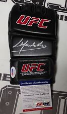 Lyoto Machida Signed UFC Glove PSA/DNA COA Autograph 157 140 129 104 98
