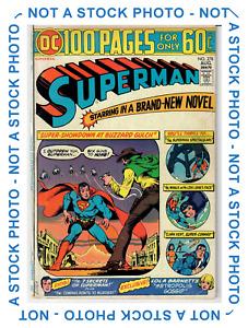 (Adventures of) Superman #278 100 Page Giant!! Buzzard Gulch Terra-Man 5.5 FN-