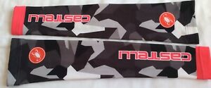 Castelli Arm Warmers Camouflage Pink and Black Size Small Used