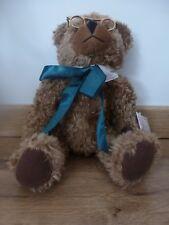 Doudou peluche ours Teddy Bear avec lunette Neuf DeAgostini