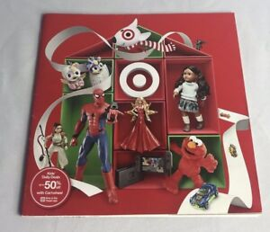 Target Holiday Toy Sale Christmas Catalog Book 2017