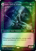 Jorn, God of Winter SHOWCASE FOIL, Kaldheim, MTG, NM/M PREORDER