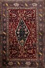 Antique Floral Agra Oriental Classic Hand-knotted Wool Area Rug Foyer 4x5 Carpet