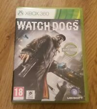 Watch Dogs (Microsoft Xbox 360, 2014) NICE COMPLETE CONDITION 18+ GAME