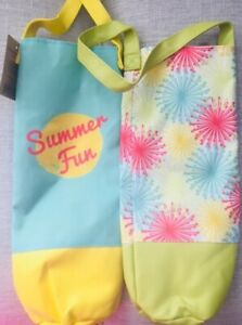 LOT OF 2 PICNIC WINE GIFT BAGS. NWT