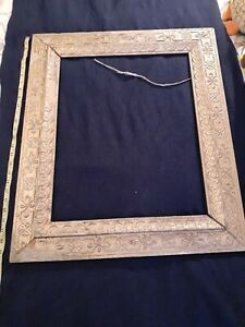 Antique Wooden Picture Frame Gilded