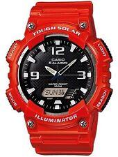 Casio Original Novo Relógio Analógico Digital AQ-S810WC-4A resistente Solar Vermelho AQ-S810