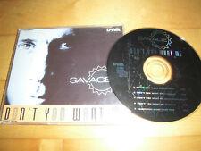 Savage-Don 't You Want Me Maxi-CD (DWA 01.41)