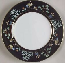 3 Fitz & Floyd Chinoiserie Salad Plates 7 1/2� Excellent Condition