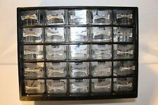 25-Drawer Organizer Cabinet Home Hardware Crafts Parts Tools Storage Bin Box