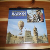 THE ADVENTURES OF BARON MUNCHAUSEN -- Criterion Collection Laserdisc 1988