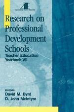 Teacher Education Ser.: Research on Professional Development Schools :...