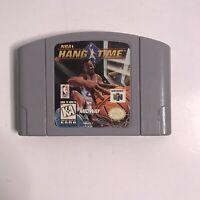 NBA Hang Time Hangtime Nintendo 64 N64 Original Authentic Retro Classic!