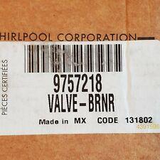 Range Burner Valve 9757218 WP9757218 New Whirlpool