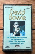 DAVID BOWIE K7 audio DECCA