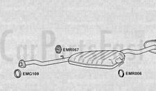 Exhaust Rear Back Box Fiat Tempra 1.6 Petrol Estate 09/1994 to 12/1996
