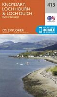 Knoydart, Loch Hourn and Loch Duich by Ordnance Survey 9780319246481 | Brand New