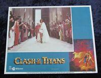 Clash Of The Titans lobby card # 8 - Harry Hamlin, Ray Harryhausen (1981)
