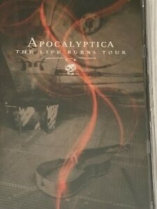 Apocalyptica The Life Burns Tour DVD  Like New Hard Case