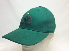 NEW BULLE ROCK GOLF CLUB HAT FITTED MEDIUM  GREEN MADE IN USA