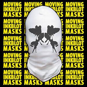 Halloween Costume Rorschach Moving Inkblot Mask - Irrational