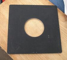 genuine Linhof Kardan 162mm Lens board  for compur copal  3 62mm clearance hole