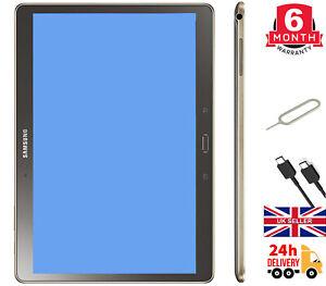 """Samsung Galaxy Tab S1, S2 16GB/32GB WiFi LTE 10.5"""" Bronze/White/Gold All Grade"""