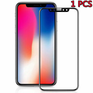 10D Curved Tempered Glass Screen Film Protective For iPhone XS Max XR XS X 8 7 6