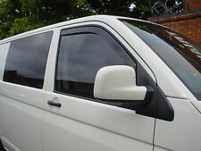 TEAM HEKO SMOKED WIND RAIN DEFLECTORS VW TRANSPORTER T5 VAN 2003>