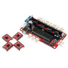 Assembled Sanguinololu 1.3a & 4pcs A4988 Stepper Driver 3D Reprap Prusa Mendel