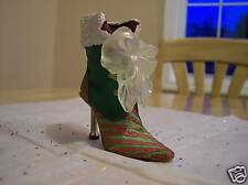 Just The Right Shoe ~ Christmas Eve Ball Boot ~ Mint!