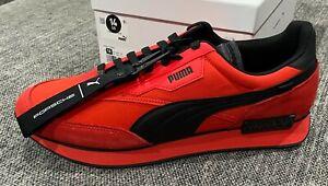 Puma PL Future Rider Turbo Porsche Red/ Black Brand New Size 14