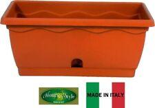 Balconetta Vulcano con vassoio raccogligocce,  40x20x16h