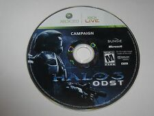 Halo 3: ODST (Xbox 360, 2009) Campaign Disc Only