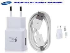 CARICA BATTERIA ORIGINALE SAMSUNG per GALAXY S6 S7 + cavo micro USB FAST CHARGER