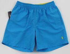 Men's POLO RALPH LAUREN Aqua Turquoise Swimsuit Trunks S Small NWT NEW 4106174