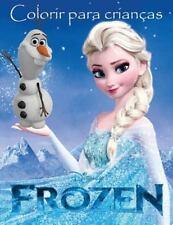 Frozen Livro para Colorir : Este Adorável A4 60 Página Livro de Colorir para...