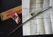 NOS 1961 1962 FORD ACCESSORY HOOD ORNAMENT w ORIGINAL BOX GALAXIE 500 STARLINER