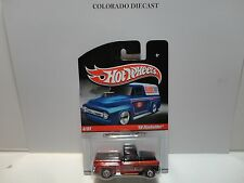 Hot Wheels Slick Ride's Orange '56 Flashsider Rare Color w/Real Riders