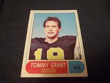 1968 OPC O-Pee-Chee CFL #54 Tommy Grant Hamilton Tiger-Cats - ex